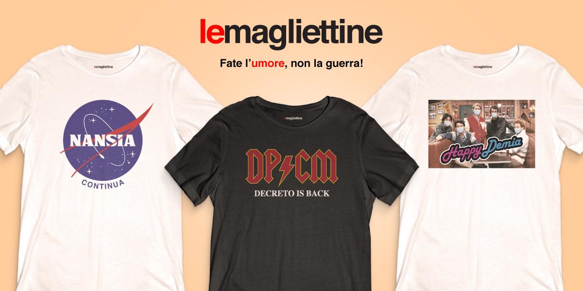 lemagliettine, t-shirt, magliettine