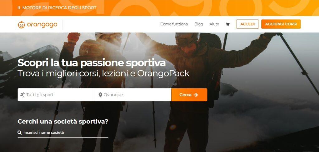 orangogo, sport, cerca sport