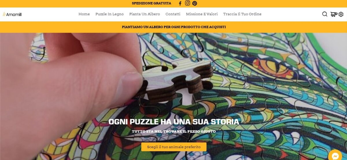 Amamill.com, Amamill, puzzle in legno, tree-nation