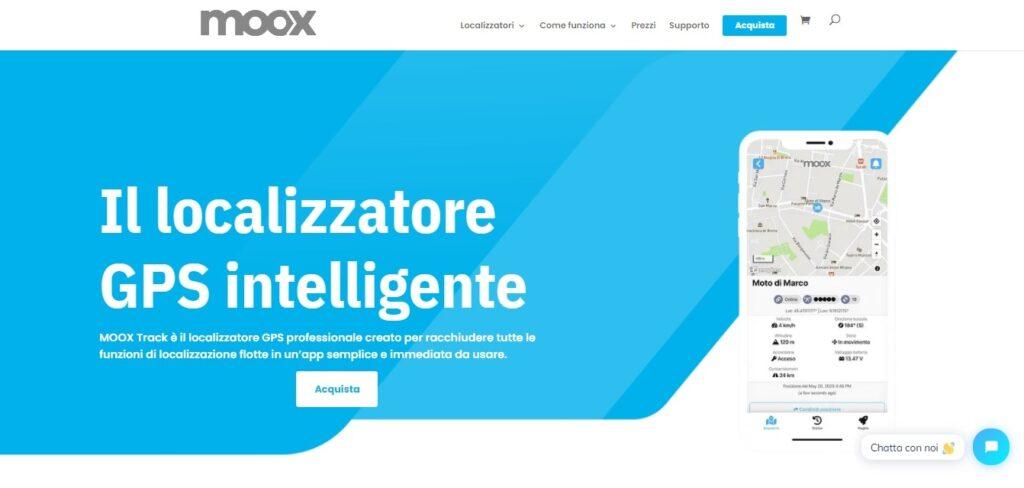 moox, app gps