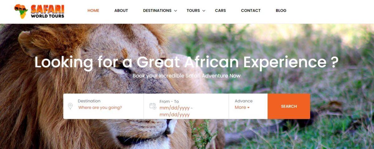 Safari in Africa, safariworldtours.com