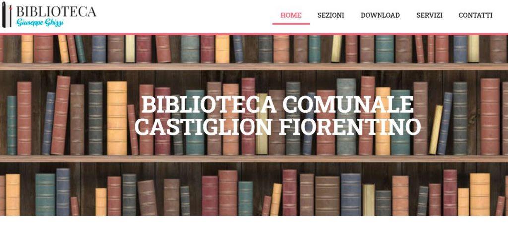 biblioteca comunale Castiglion Fiorentino